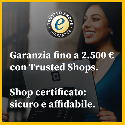 Acquista in tutta sicurezza con Trusted Shops