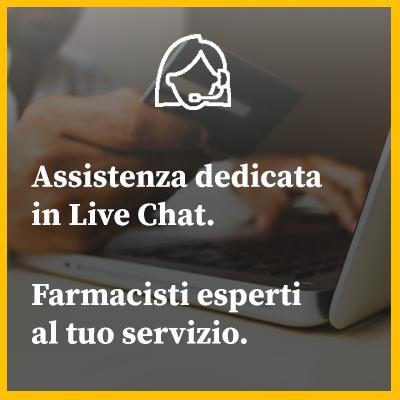 Live chat con la nostra assistenza 6 giorni su 7